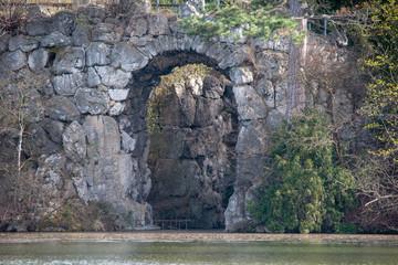 Gotische Brücke Schlosspark Laxenburg