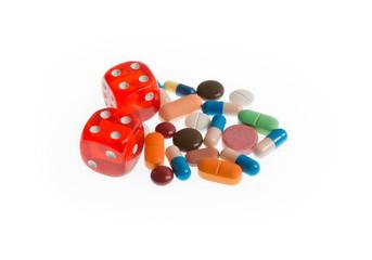 Medical Gambling Drugs addiction and risks