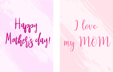 Mother's day holiday banners