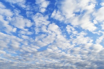 cloudy on blue sky for background