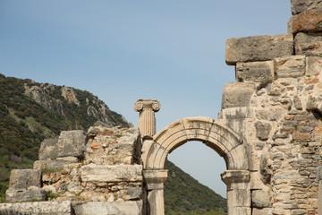 the ancient Roman city of Ephesus