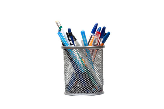 Stand for pens and pencils on the desktop