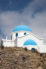 Chiesetta sull'isola greca