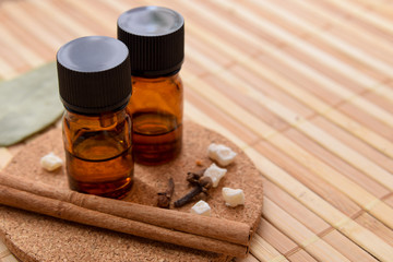 essential oils with spices
