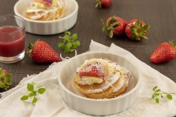Italian zeppole pastries