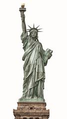 Aluminium Prints Historic monument Statue of Liberty in New York City