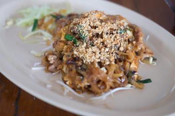 Thai styled Pan Fried Noodles Pad Thai