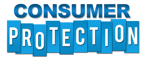 Consumer Protection Professional Blue