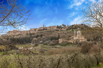 A Breathtaking View Of Montepulciano