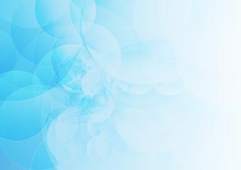 Abstract geometric modern design on Light blue background