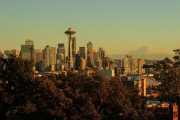Sunset at Seattle