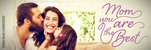 Composite image of mothers day message