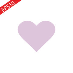 Vector Valentine s day. Watercolor heart background. Lovely card