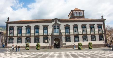Câmara Municipal do Funchal (Funchal City Hall) de Praça do Município de Funchal Madeira island Portugal