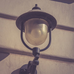 Street lamp for the cty