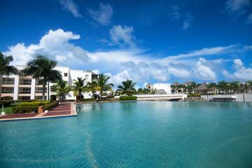 Luxury tropical hotel in Dominican Republic