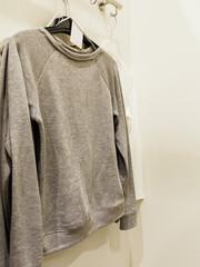 Garment clothes in shop.