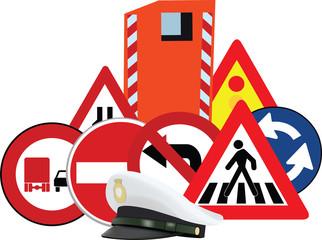 codice della strada cartelli e controllo