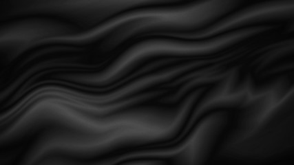 Black fabric texture background with copy space