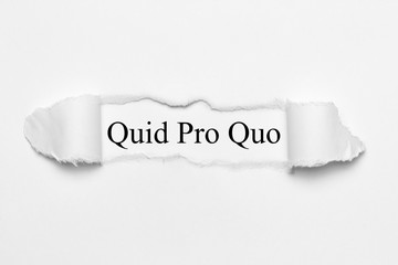 Quid Pro Quo Fotobehang