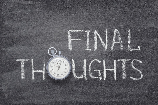 final thoughts watch