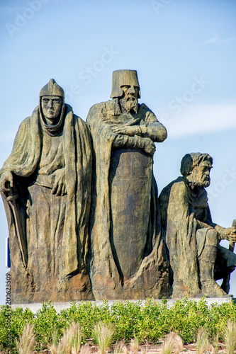 Monumento al octavo centenario primeros pobladores