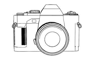 sketch of camera vector