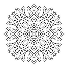 Vector arabesque ornament