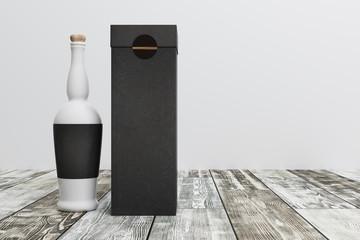 empty drink bottle