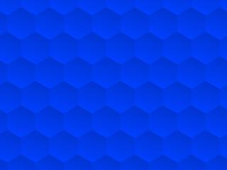 ヘキサゴン ブルー