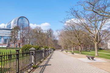 parc Léopold à Bruxelles