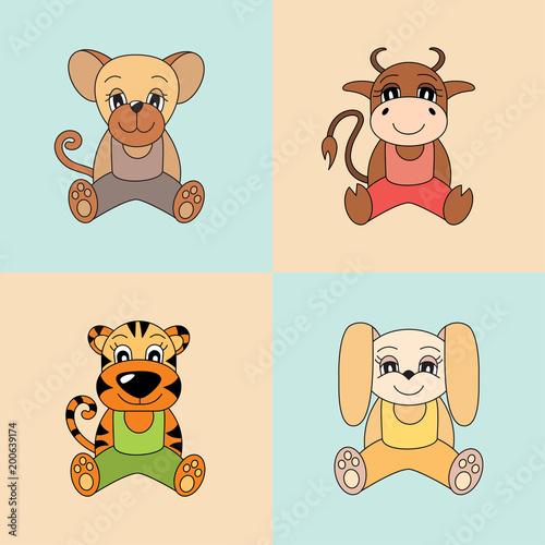Rat Ox Tiger Rabbit Symbols Of The Chinese Horoscope 2020 2021