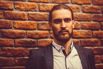 good-looking formal man
