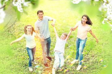 family time in spring