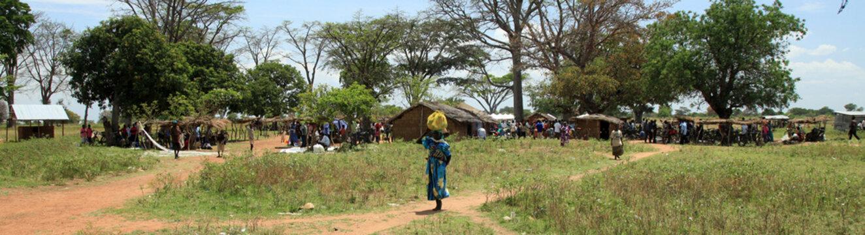Local Market Uganda, Africa