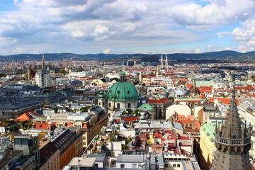 View over Vienna, Österreich