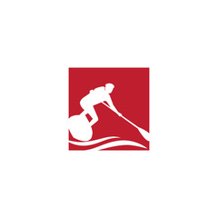 sport stand up paddling Board logo
