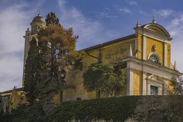 Church of San Giorgio in Portofino, Italy
