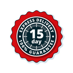15 Day Express Delivery illustration