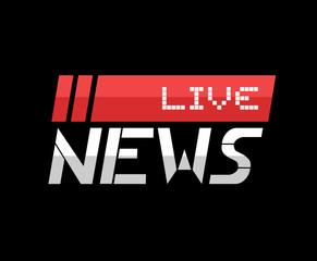 flat news symbol