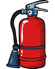 Doodle fire extinguisher