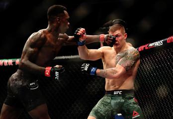 MMA: UFC Fight Night Phoenix-Adesanya vs Vettori