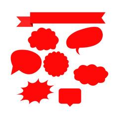 speech, bubble, symbol, decorative, element, cloud, shape, comic, sigh, design