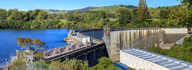 Karapiro lake power station, New Zealand