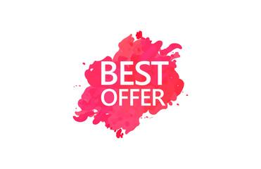 Best Offer  Water Color Design
