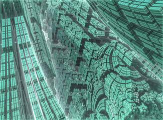Bilder von 3 dimensionalen Fraktalen