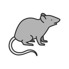 Mouse color icon