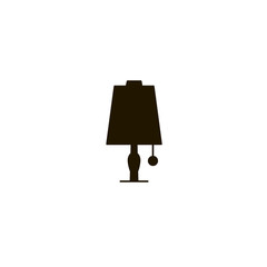 table lamp icon. sign design