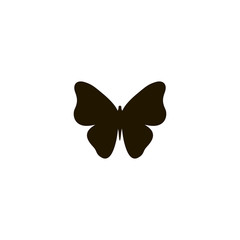 butterfly icon. sign design