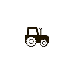 tractor icon. sign design